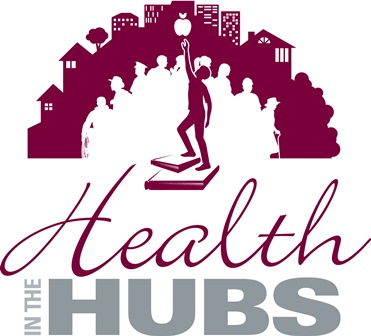 Health in the hubs logo