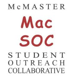Logo of the McMaster Student Outreach Collaborative (MacSOC)