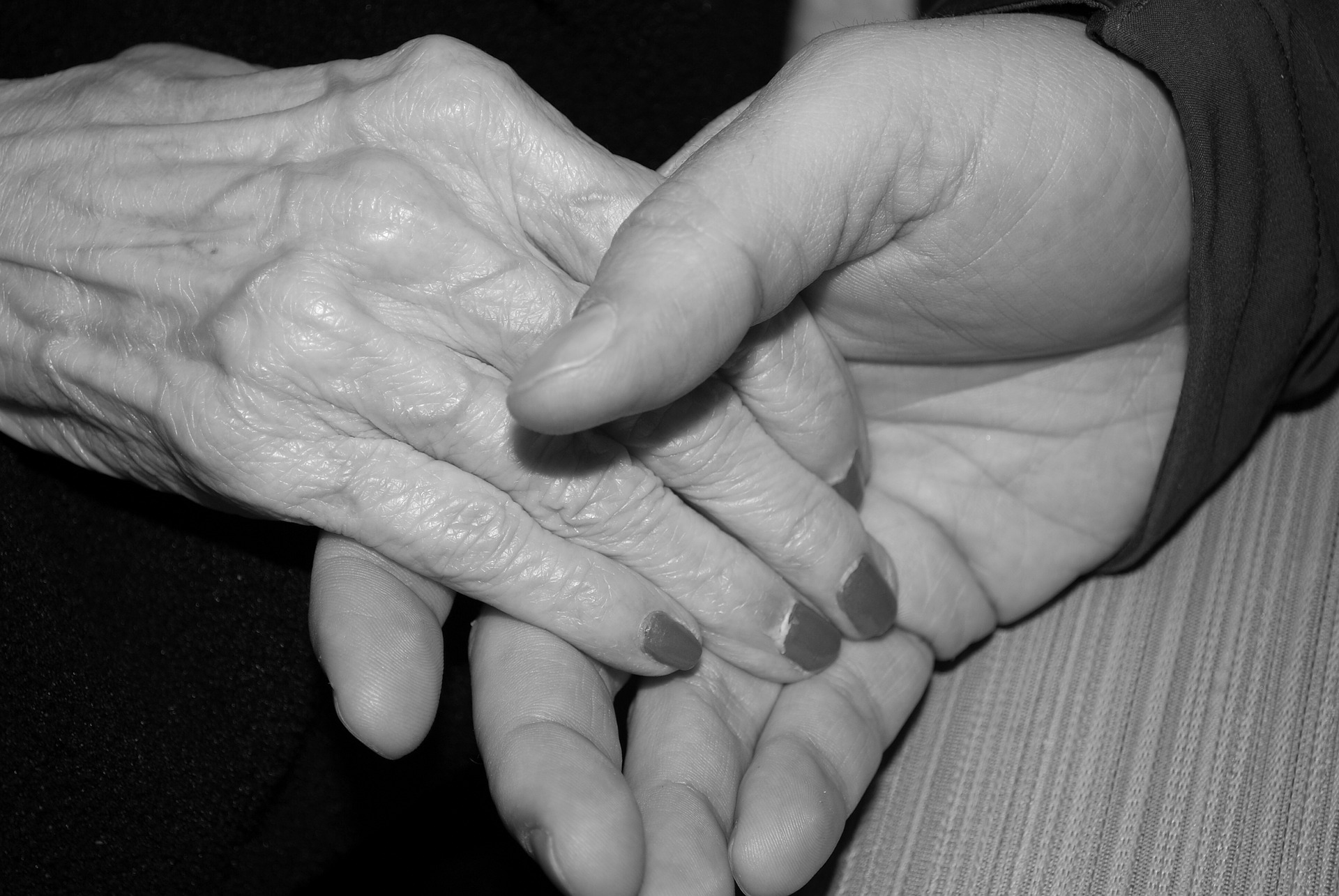 photo of aging hands